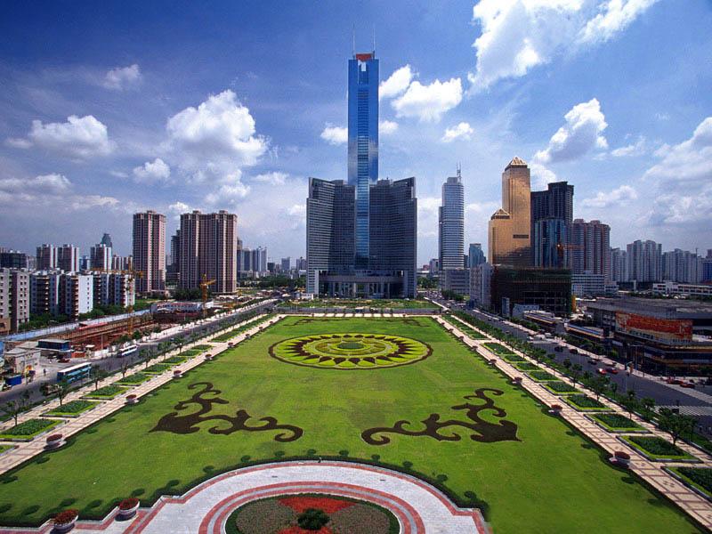 现越秀公园的五羊雕像便是广州的象征