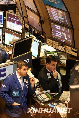 纽约股市道琼斯指数重上10000点--人民网经济