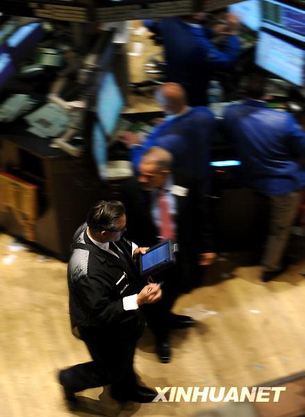 纽约股市三大股指25日上涨