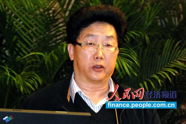 重庆市经信委副主任刘卫东演讲