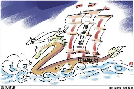 中共十九大会议卡通图片-中共中央政治局会议研究2010年经济工作