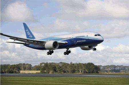 波音787飞机首飞在即 最大起飞重量再度增加