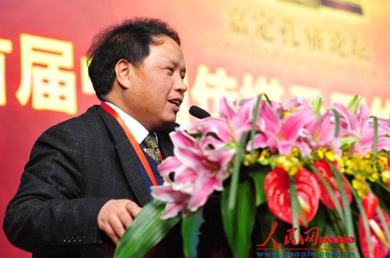上海市网宣办副主任谢海光做主题演讲