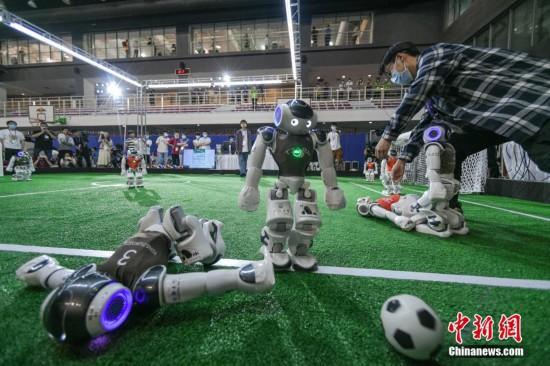 機器人世界杯賽在天津舉行